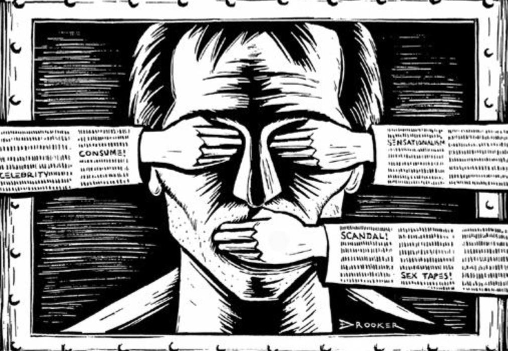 لا للصنصرة  نعم لحرية الصحافة والتعبير