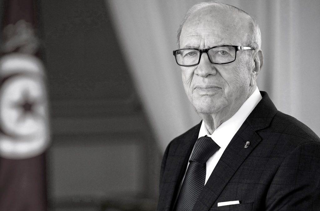 وفاة رئيس الجمهورية السيد الباجي قايد السبسي