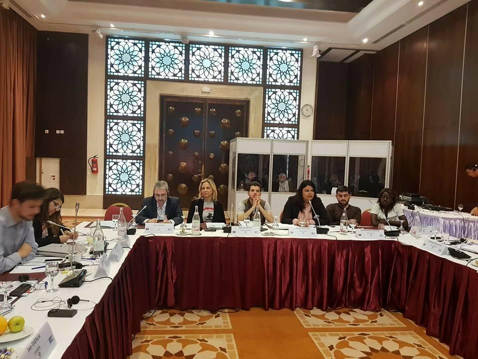 عودة إلى فعاليات الملتقى دولي للمنظمات الشبابية الديمقراطية الاجتماعية